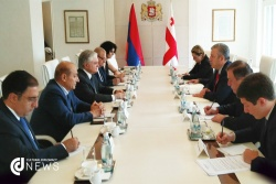 Armenian Foreign Minister Meets Georgian President and Prime Minister for Further Cooperation.jpg