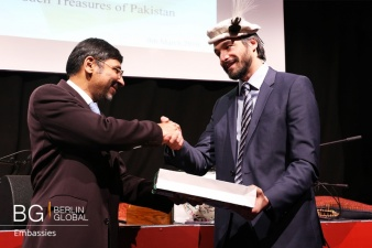 Tourism and Cultural Heritage of Pakistan at the Berlin Economic Forum 2016 2.jpg
